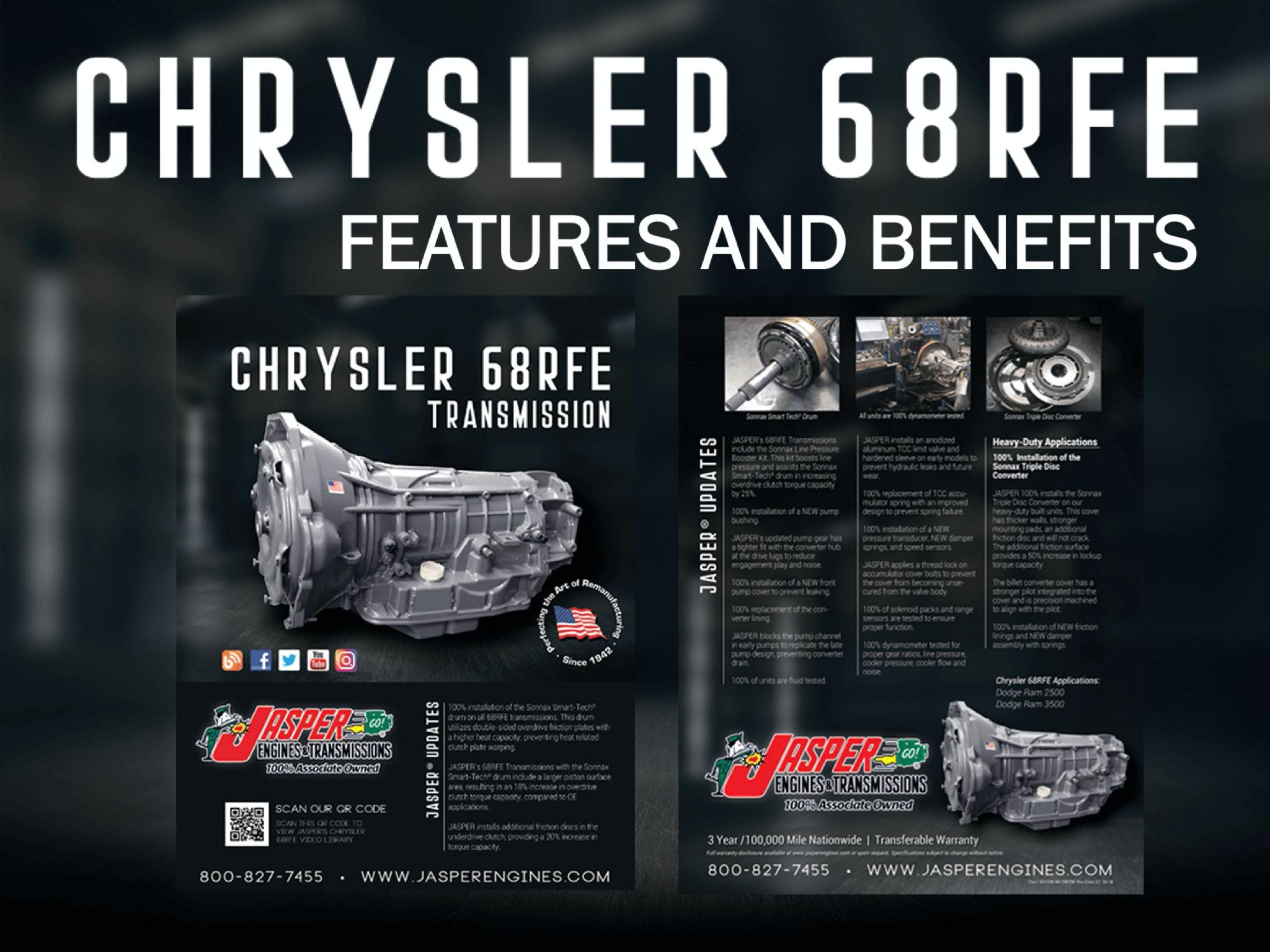 Chrysler 68 RFE Transmission